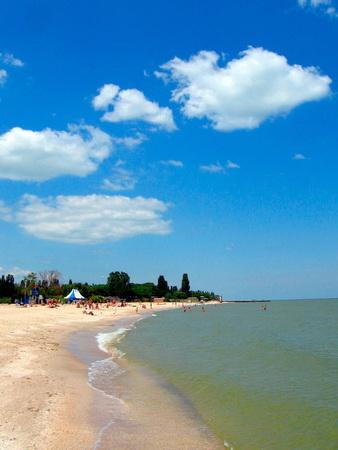 Абхазия пляжа и набережной 45