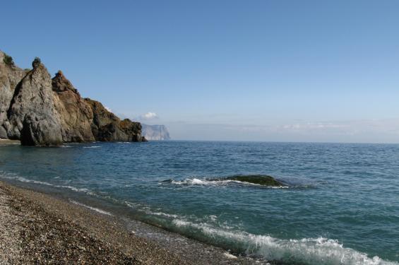 курортный поселок Отрадное Крым